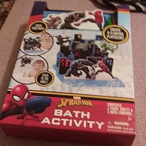 Spider-Man bath activity